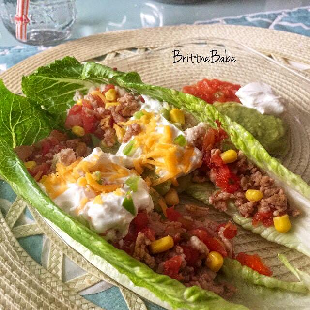 How To Make Lettuce Tacos by Brittne Babe