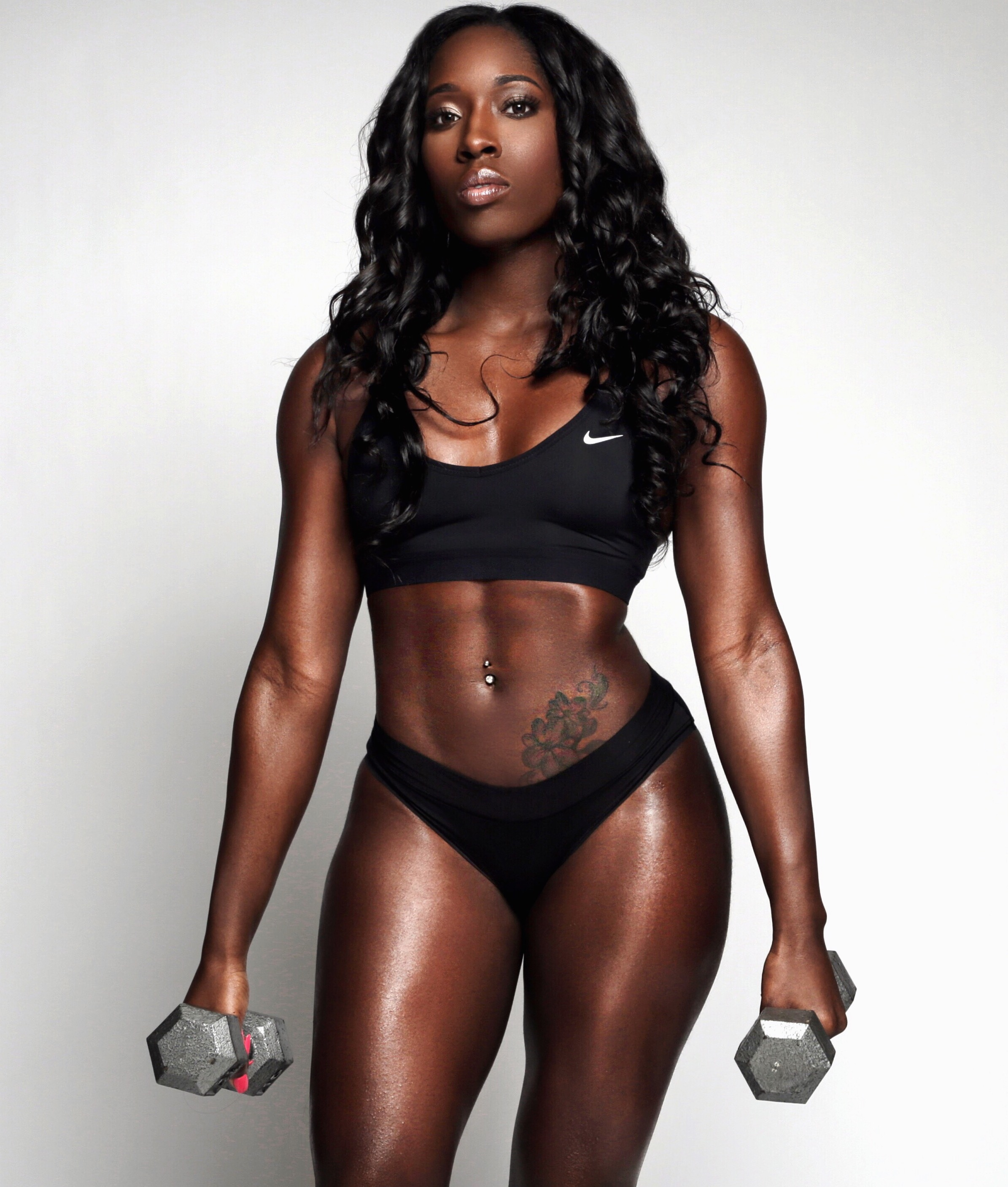 naked-black-fit-babes-powerful